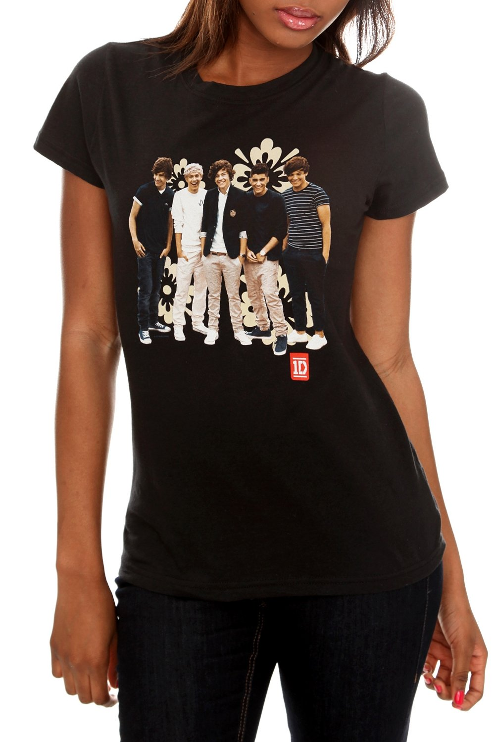 Pop quiz: Who is your daughter's favorite member of One Direction? If you don't know then you better play it safe and pick up a shirt that features them all. If she is one of the millions of girls who can't get enough of these guys, then we predict that receiving a One Direction t-shirt from you as a gift should launch you into BFF status easily.