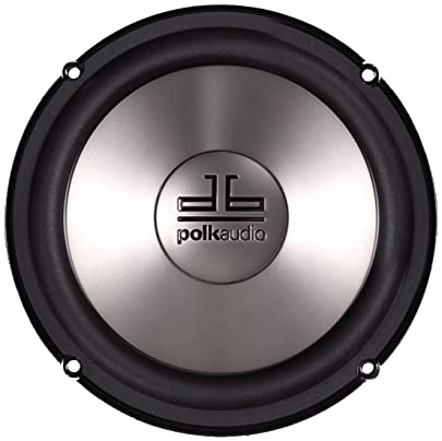 Polk Audio DB6501 6.5-Inch 2-Way Component System Pair, Silver