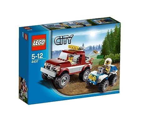 Lego City - 4437 - Jeu de Construction - La Course Poursuite en Forêt