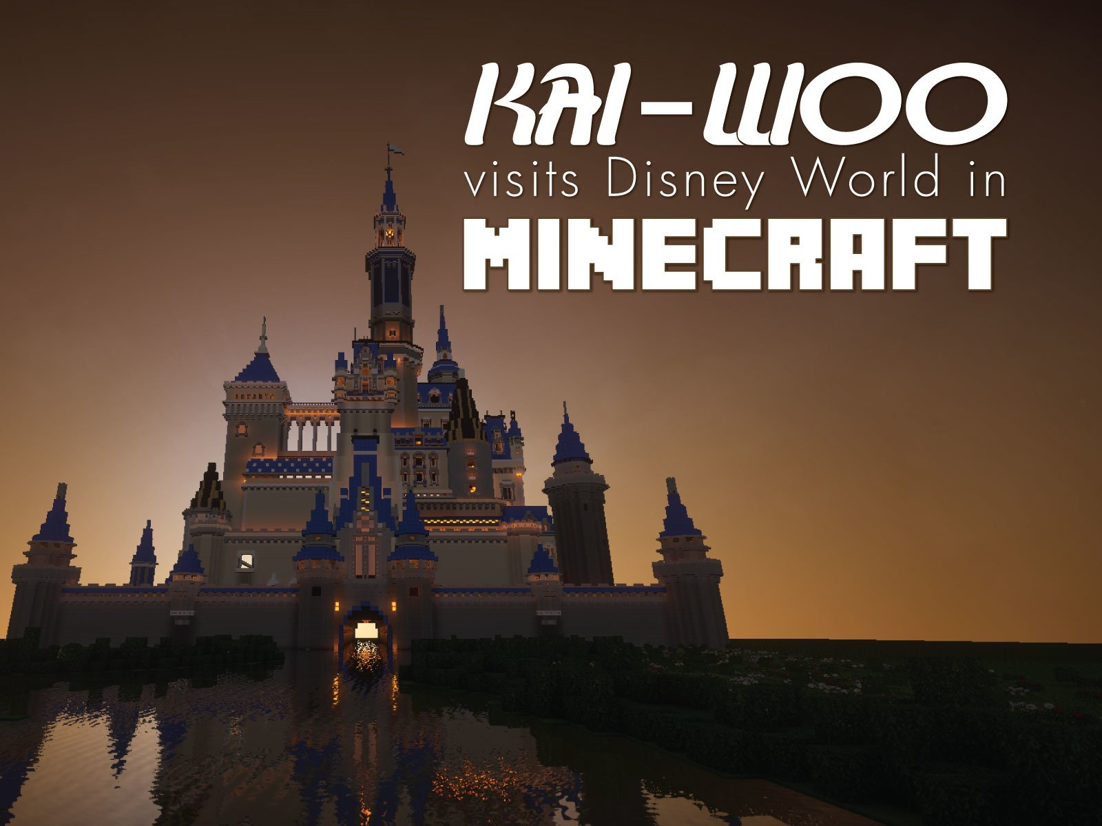 Clip: Disney World In Minecraft with Kai-Woo - Season 1