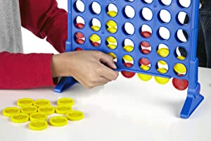 Hasbro Connect 4 Game (Color: Design 1, Tamaño: ONE SIZE)