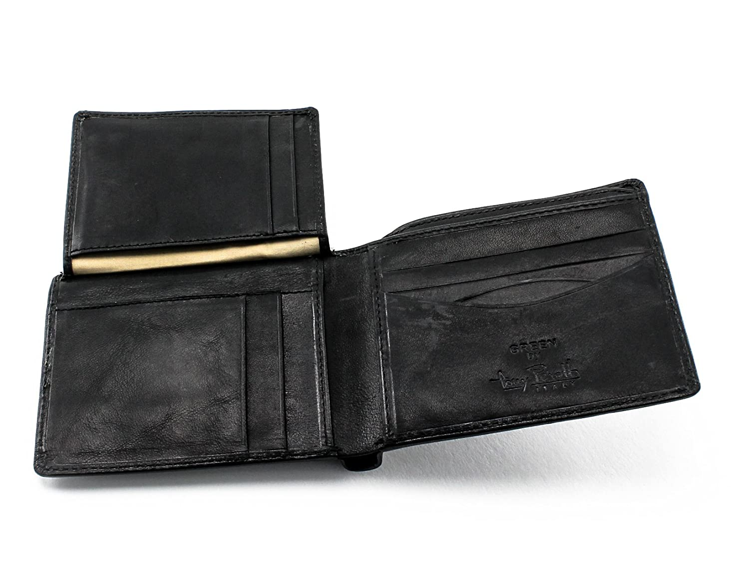 Мужское портмоне Tony Perotti Prima Bi-Fold with Front I.D. Flap