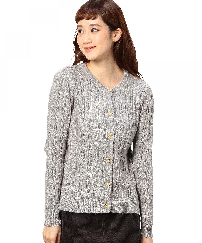 Amazon.co.jp: (コーエン) COEN アンゴラ混ケーブルカーディガン: 服&ファッション小物通販