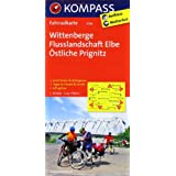 Wittenberge - Flusslandschaft Elbe - Östliche Prignitz: Fahrradkarte. GPS-genau. 1:70000 (KOMPASS-Fahrradkarten Deutschland)