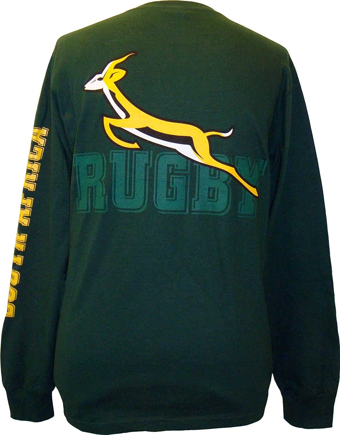 South Africa Rugby Jersey 2015 Long-sleeve South Africa Rugby