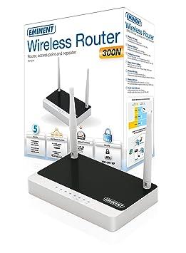 Eminent EM4544 - Router inalámbrico N 300 Mbps