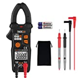 Multimeters, Tacklife CM03 Clamp Meter Auto-Ranging 6000 Counts NCV Electrical Tester AC Current, AC/DC Voltage, Ohm Meter Digital Multimeter, AC Signal/Inherent Frequency Electronic Tester (Color: Tacklife Clamp Meter (CM03), Tamaño: CM03)