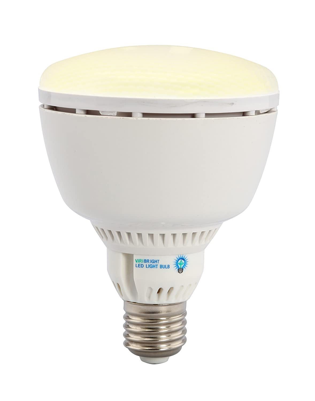 benchmark by viribright 73753 10 watt br30 led light bulb a lamp standard medi ebay. Black Bedroom Furniture Sets. Home Design Ideas