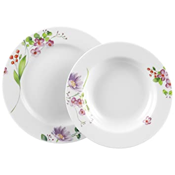 seltmann weiden rondo rondo sensitive service de vaisselle 12 pi ces cuisine. Black Bedroom Furniture Sets. Home Design Ideas