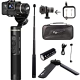Feiyutech G6 3-Axis Splash Proof Handheld Gimbal Stabilizer WiFi + Bluetooth for Action Camera GoPro Hero 6 5 4 3 Sessions YI Cam 4K AEE Action and More(Mini Tripod, Extension Rod,Gopro Sessions) (Tamaño: WiFi Extender - model WEX619)