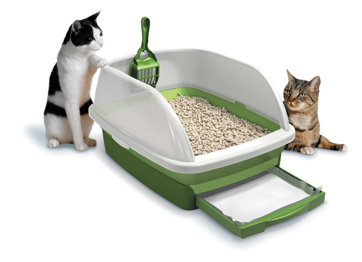 New Litter Box Kit System Tidy Cats Breeze Odor Control