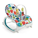 Fisher-Price Infant-to-Toddler Rocker, Geo Curve Multicolor (Color: Multi Color, Tamaño: One Size)