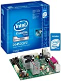 Intel D945GCLF2 Essential Series Mini-ITX DDR2 667 Intel Graphics Integrated Atom Processor Desktop Board - Retail