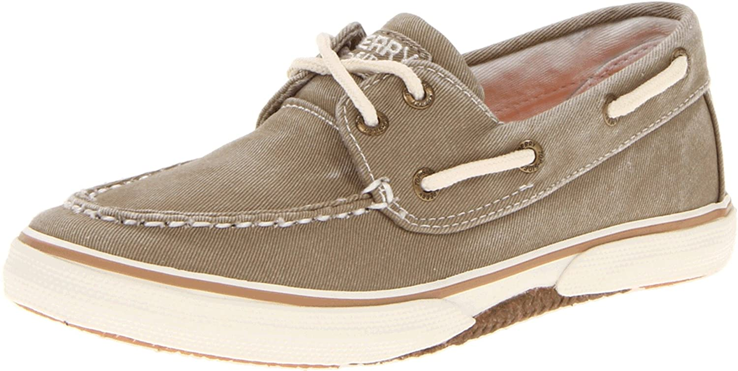 Sperry Top-Sider Halyard Boat Shoe (Toddler/Little Kid) sperry top sider bahama boat shoe little kid big kid