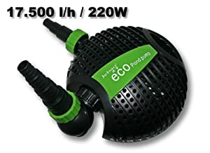 Jebao ATP18000 Eco Teichpumpe 17500l/h 220W  GartenKundenberichte und weitere Informationen