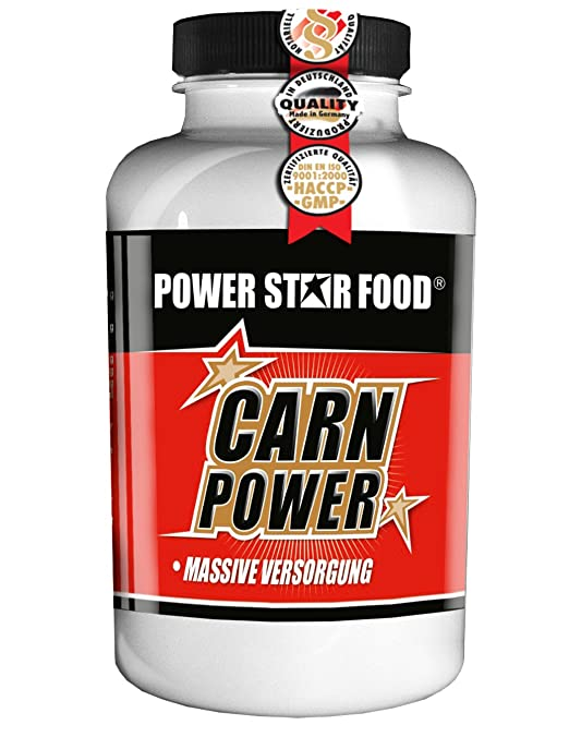 CARN POWER, Dose à 125g L-Carnitin, Gewichtsmanagement, vegan, 125 Portionen in Pharmaqualität