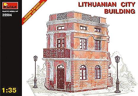 Miniart 1:35 - Lithuanian City Building - MIN35504