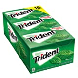 Trident Spearmint Sugar Free Gum 15/14 Piece Packs Total 210 sticks