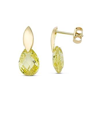 2 ct Boucles d/'oreille en Diamant 14K Blanc Parfait or finition Solitaire Goujons