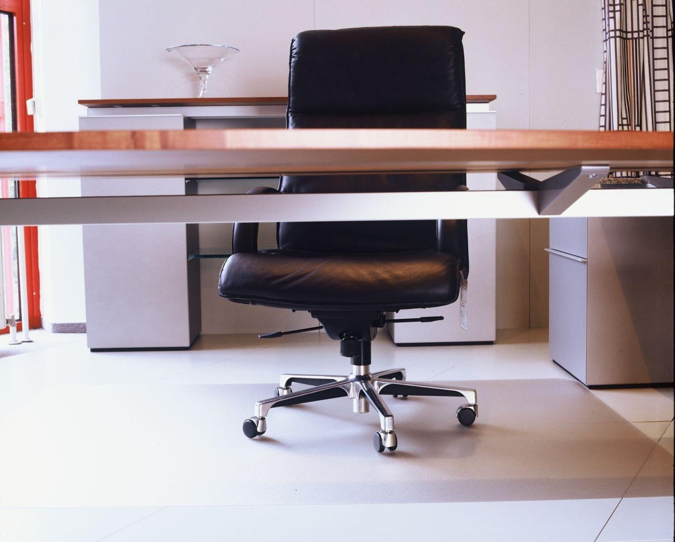 Floordirekt ECO V Bodenschutzmatte  120x300cm  für Hartböden (Parkett, Laminat, etc.)   Kundenbewertung und Beschreibung