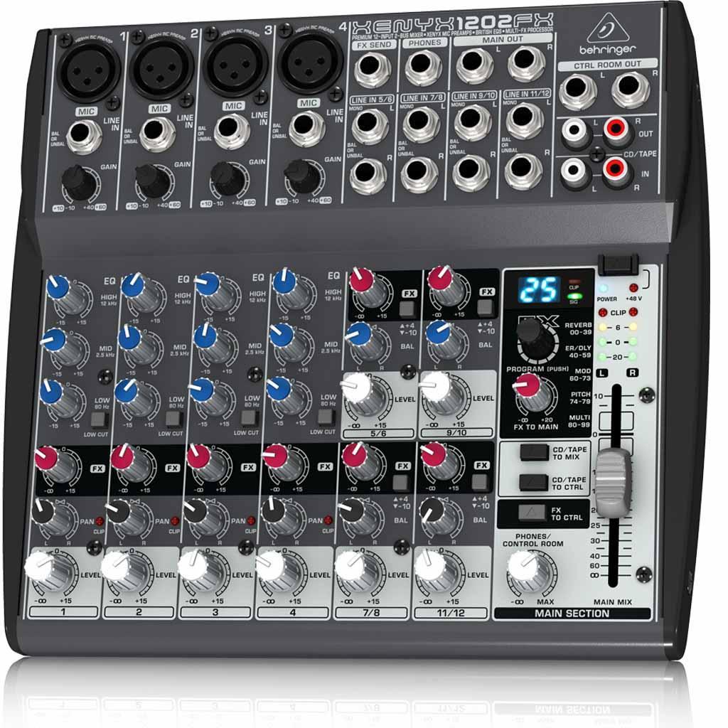 Amazon.com: BEHRINGER XENYX 1202FX: Musical Instruments