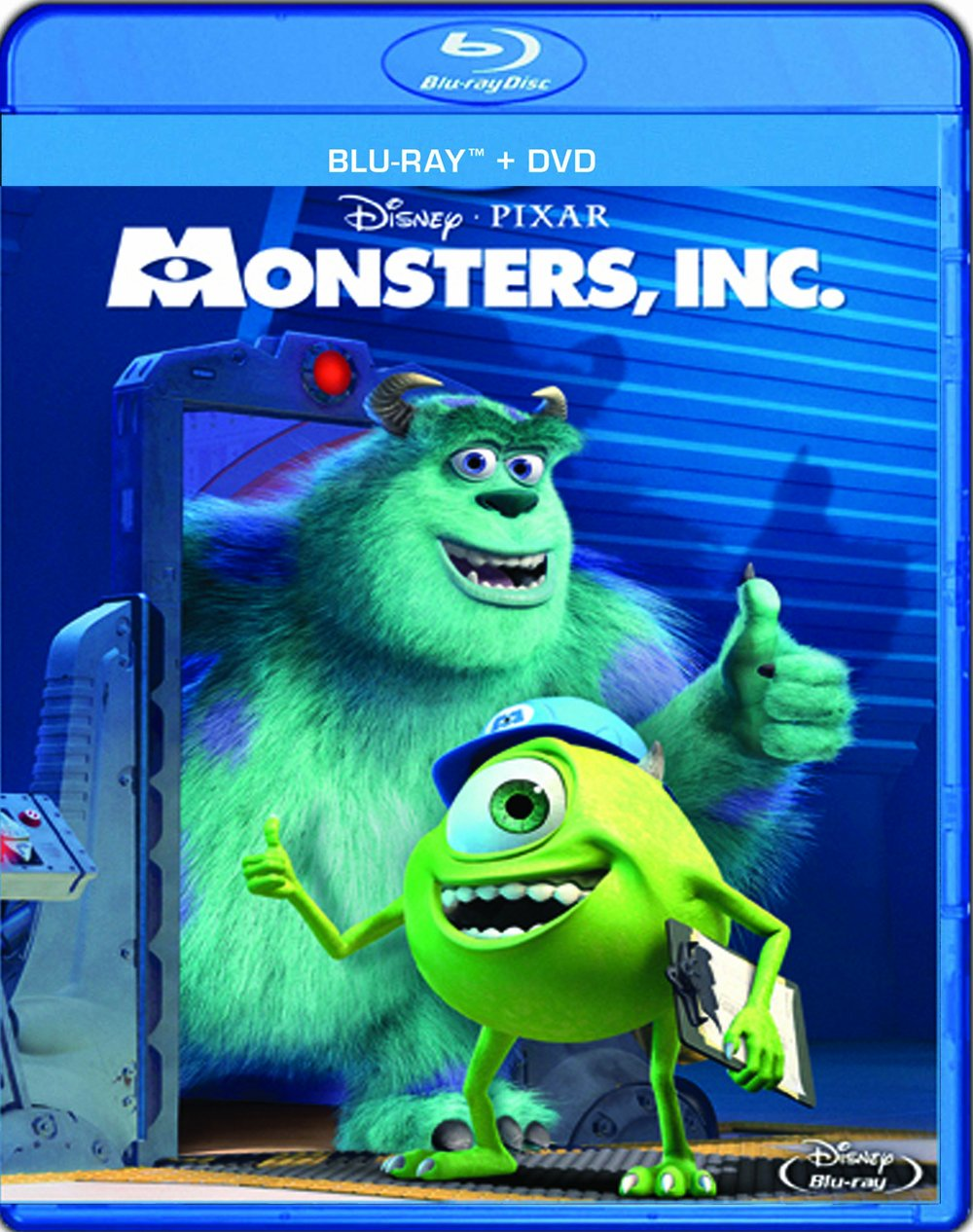 Monsters, Inc. (Three-Disc Collector's Edition: Blu-ray/DVD Combo in Blu-ray Packaging) $19.99