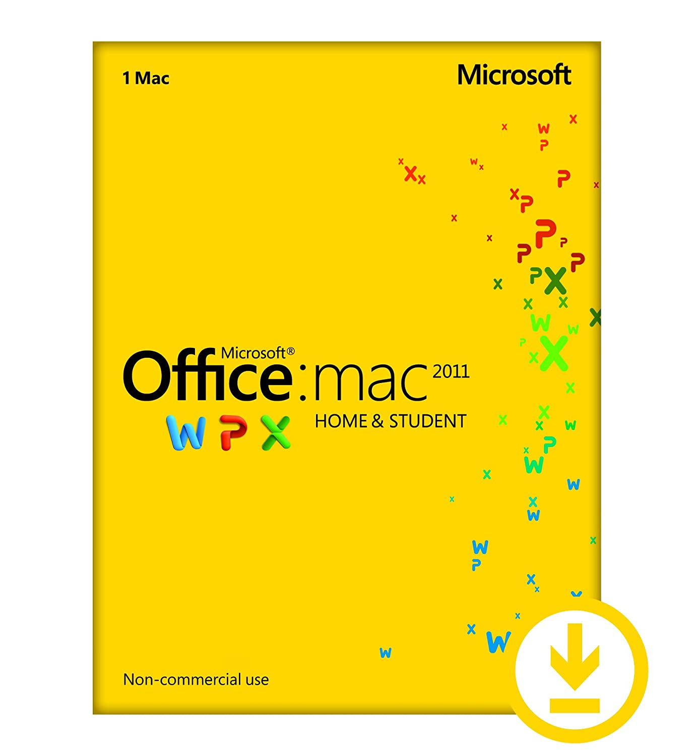 Office Mac Home and Student 2011 – 1PC/1User [Download]
