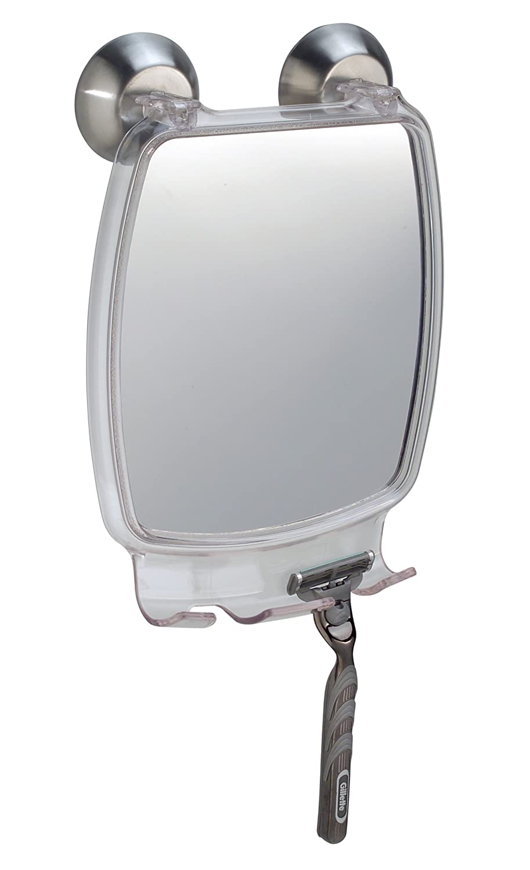 shower shave mirror power lock fog free fogless shaving men baht clear reflect ebay. Black Bedroom Furniture Sets. Home Design Ideas