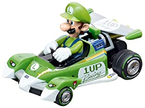 Carrera GO!!! Nintendo Mario Kart 1:43 Scale Electric Powered Slot Car Race Track Set System 20 Feet (Tamaño: Ages 8+)