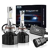 9012/HIR2 LED Headlight Bulbs Conversion Kit ( DOT Approved ) SEALIGHT High Low beam Light Bulbs (9012 HIR2)- HID Xenon White 6000K