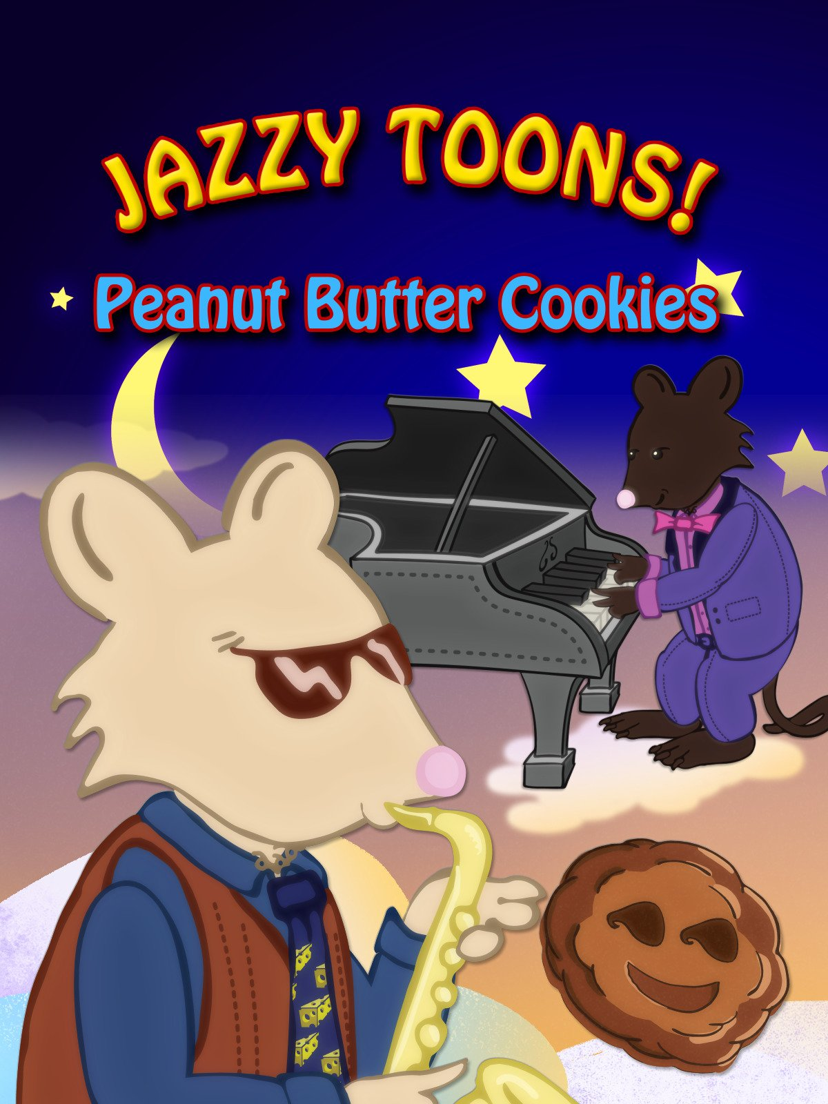 Jazzy Toons! Peanut Butter Cookies