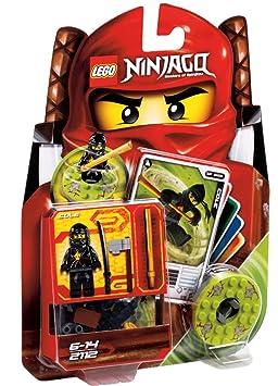 Lego Ninjago - 2112 - Jeu de Construction - Cole - Ninja Noir