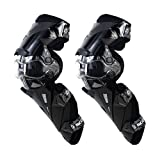 SCOYCO Motorcycle Knee Protector Guard Hard Collision Avoidance Off-Road Windproof for Outdoor Racing Cycling (Color: Black, Tamaño: Free size)