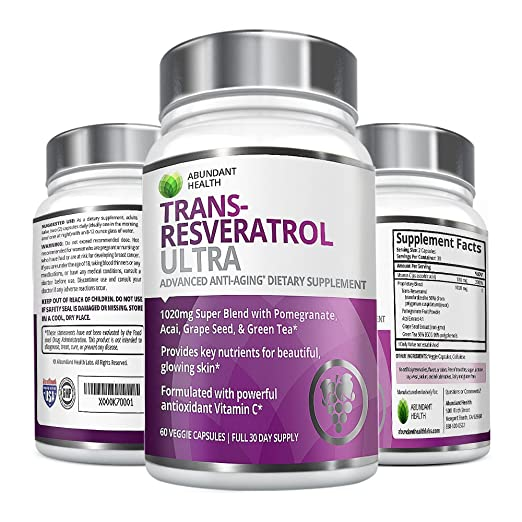 Resveratrol Anti-aging Blend Supplement