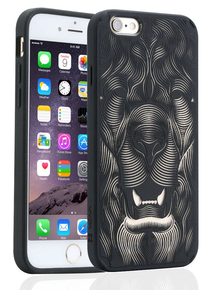 iPhone 6 Case - VENA [TACT ARMOR] Shock Absorbent Slim Hybrid Design Pattern Cover for Apple iPhone 6 (4.7) k609a 2300mah cover design powerbank 32gb memory for iphone 6 black