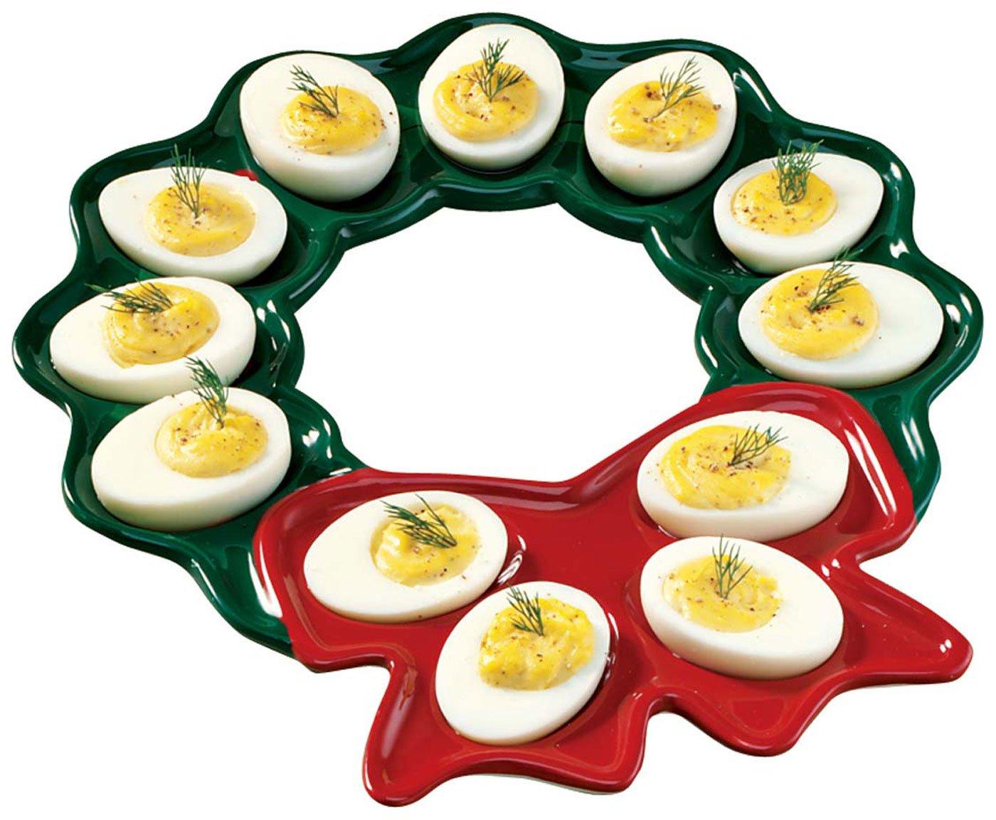 deviled egg plate