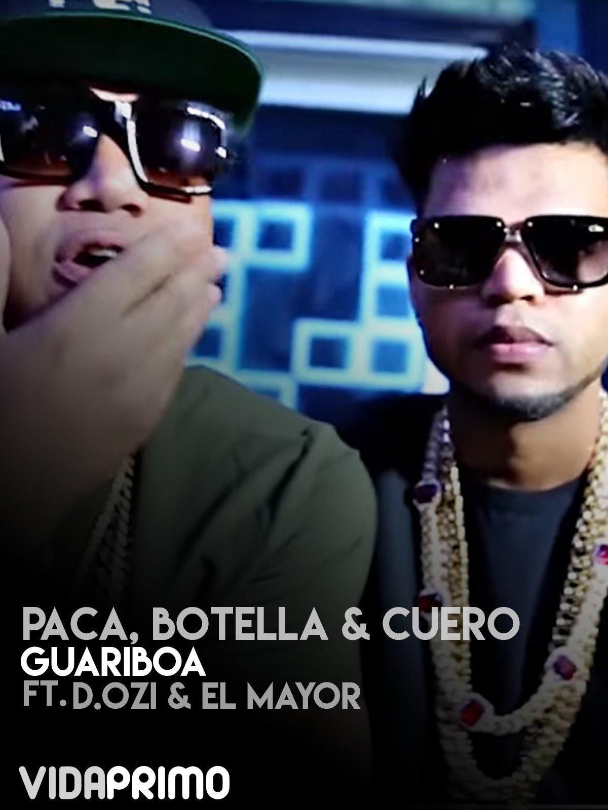 Paca, Botella & Cuero