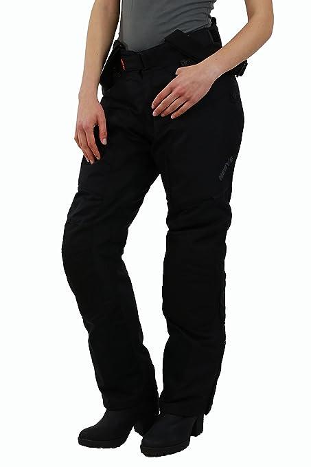 NERVE 22140304_02  AR Pantalon de Moto, Noir, Taille S