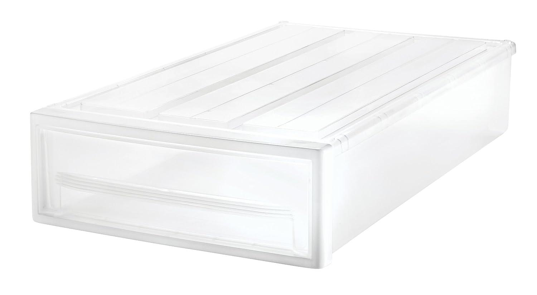 IRIS Narrow Under-bed Stacking Drawer