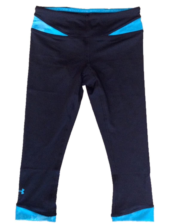 Under Armour Women's Heatgear® Sonic All-in-one Capri Black/blue 1236488 Medium inov 8 сумка all terrain kitbag black