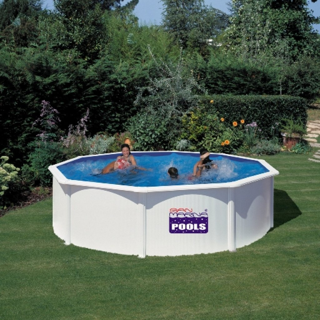 San Marina Pools Schwimmbad 350x120 cm (D x H)
