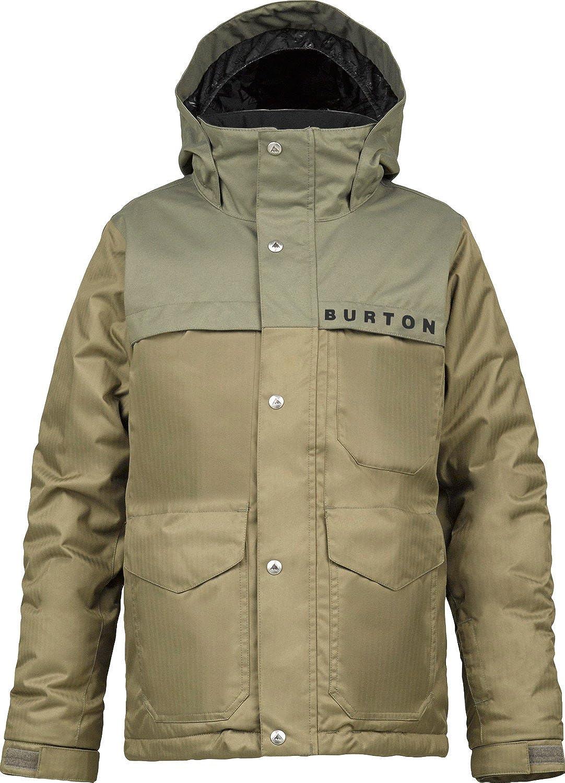 Burton Titan Snowboard Jacket Canteen Youth burton gmp eco strapped snowboard jacket gator green mens