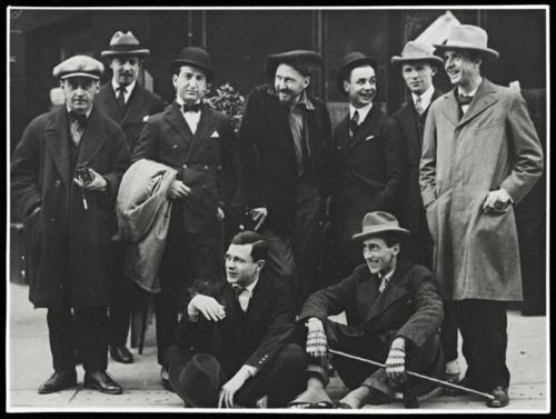 Ezra Pound in the Imagist Movement