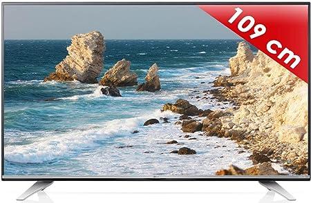 """Téléviseur LCD, LED et Plasma - LG 43UF772V - Téléviseur LED 4K 43"""" (109 cm) 16/9 - 3840 x 2160 pixels - TNT, Câble et Satellite HD - Ultra HD 2160p - 1500 Hz - Wi-Fi - Bluetooth - DLNA"""