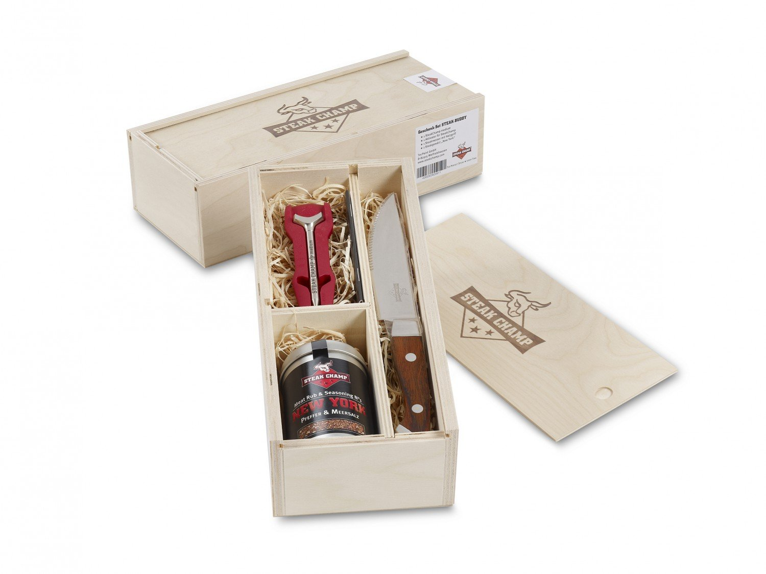 SteakChamp Geschenk-Set 1 – 'Steak Buddy' bestellen