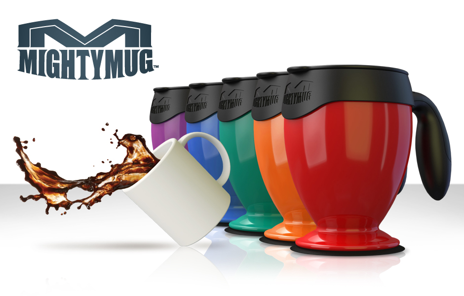 Highlighted by CBS News as one of the most innovative item for 2012, The Mighty Mug unveils its latest generation. Receiving praise from The Today Show, USA Today, and bloggers around the world! Pre-Order yours now!