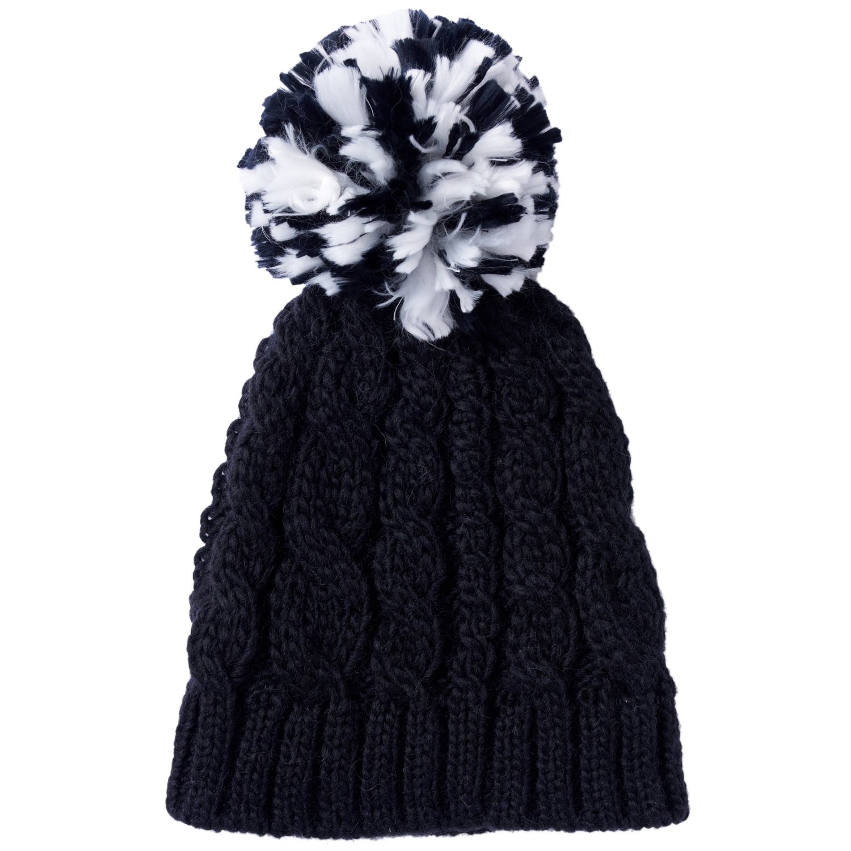 Amazon.co.jp: (プーマ)PUMA チャンキーポンポンビーニー 843415 02 ブラック OSFA: 服&ファッション小物通販