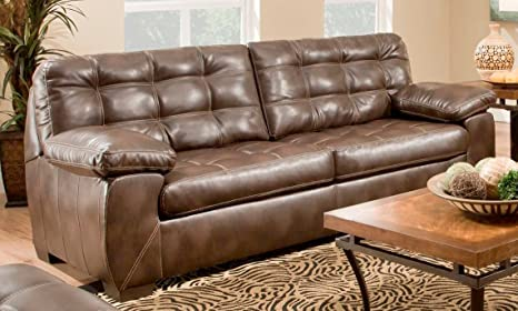 Chelsea Home Furniture Kenie Sofa, Loggins Espresso