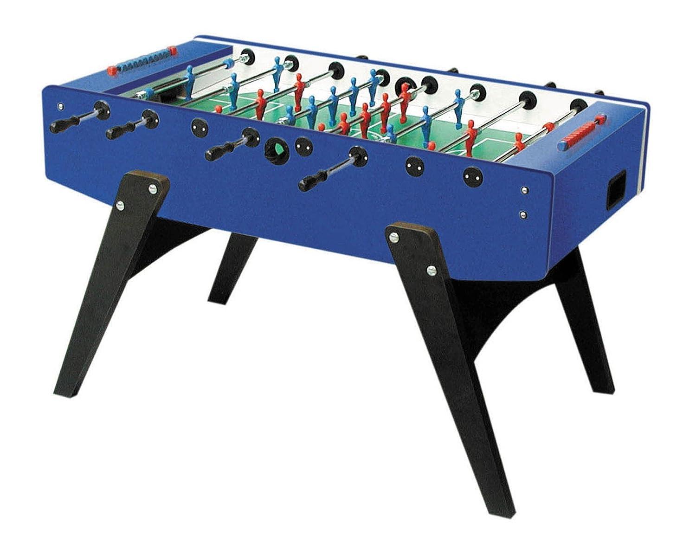 Kickertisch Garlando G2000 Fussballtisch blau mit Laminatspielfläche,Tisch-Kicker günstig bestellen