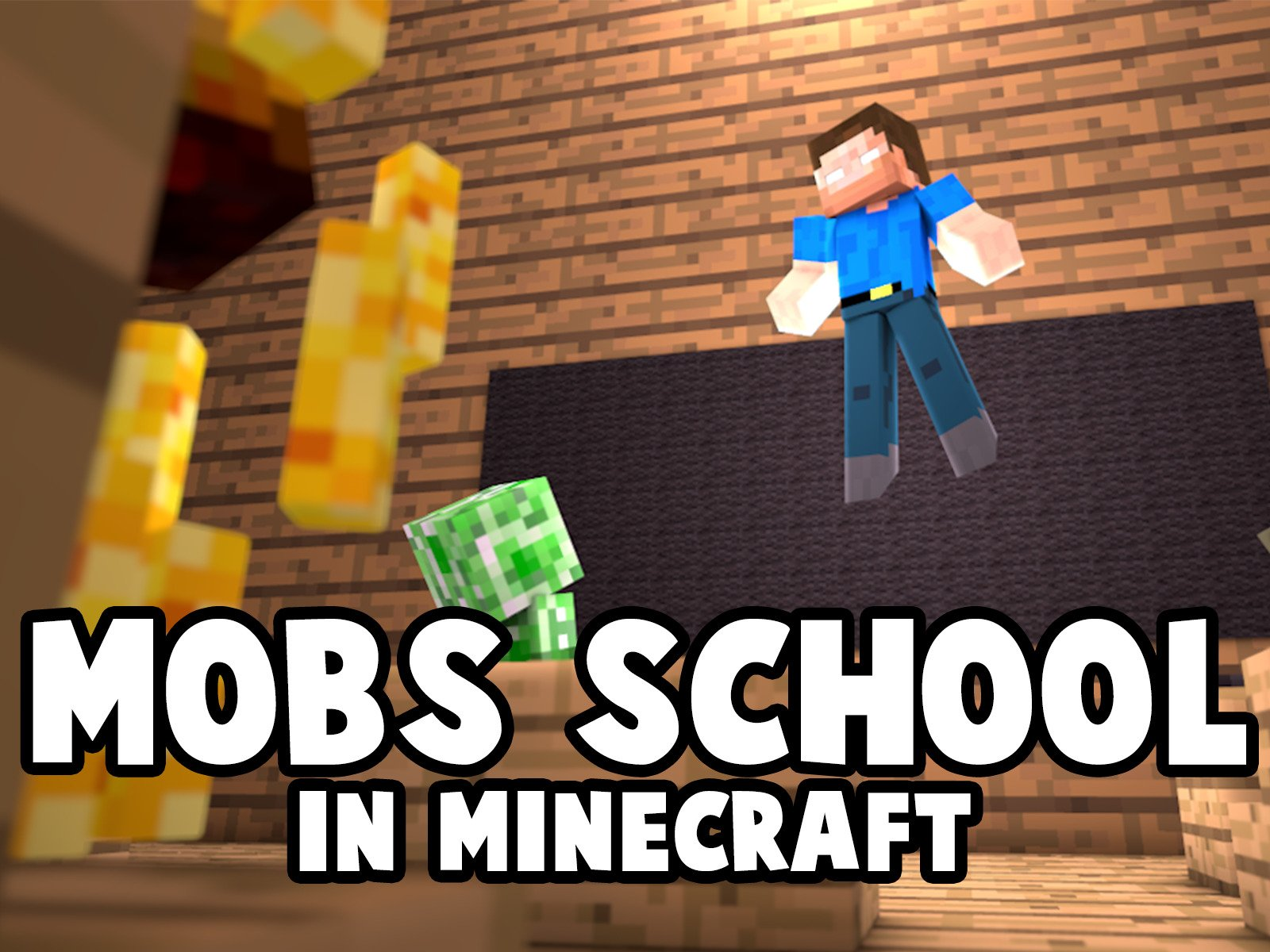 Clip: Mobs School in Minecraft - Season 1
